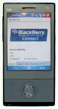 Blackberry Connect for HTC Diamond 2