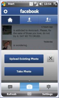 Xperia facebook panel updated 1