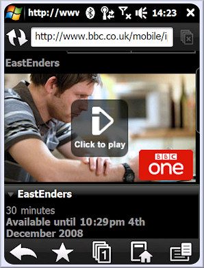 BBC iPlayer Mobile announced formally for Xperia, Omnia 1