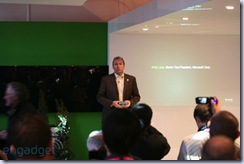 Andy Lees at HTC's news conference