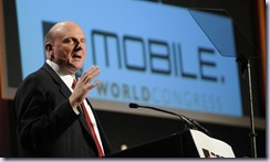 Steve Ballmer, CEO Microsoft Corporation at Mobile World Congress Keynote Panel 17th Feb Â«09