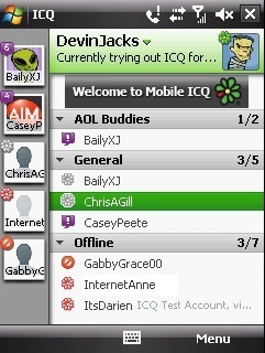 ICQ for Windows Mobile now available - MSPoweruser