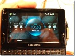 Samsung Mondi UI walkthough 2
