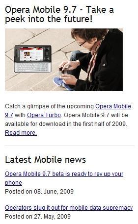 opera mobile 9 7 - WMPoweruser