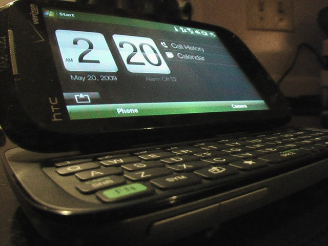 Update rom htc touch pro 2