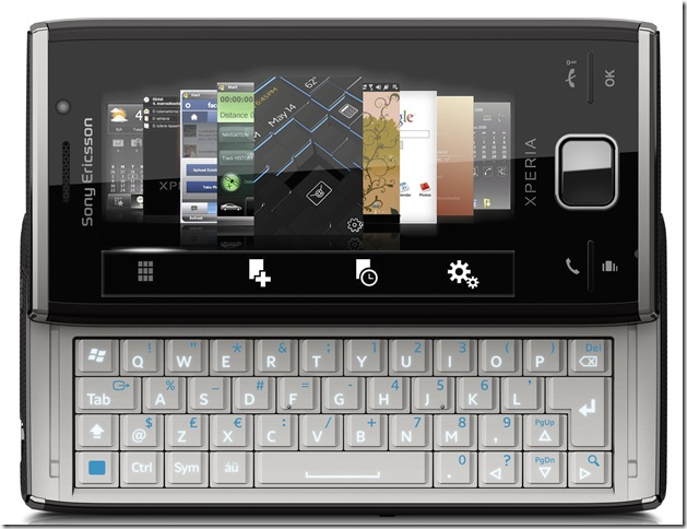 The Sony Ericsson Xperia X2