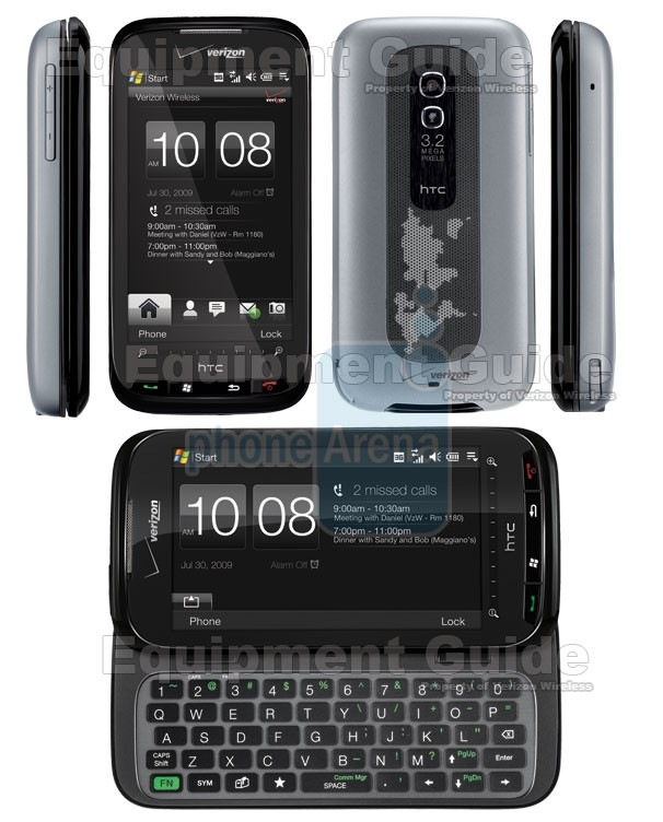 verizon htc touch pro 2 quickstart guide mspoweruser rh mspoweruser com HTC Touch Pro Applications HTC Touch Pro 2 Driver