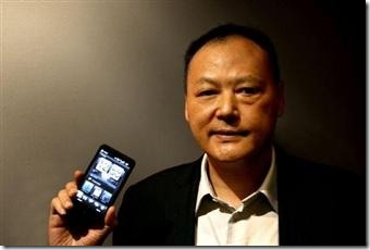 HTC_CEO_Peter_Chou_HTC_HD2_Microsoft_Windows_Mobile_6_5