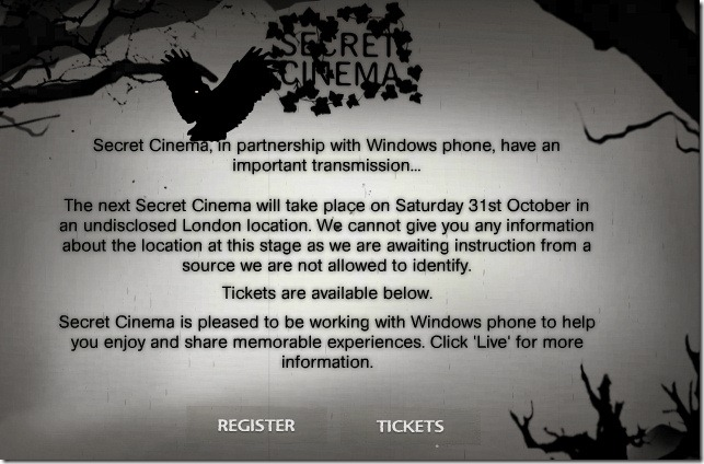 secretcinema