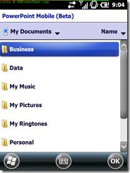 PowerPoint File Chooser