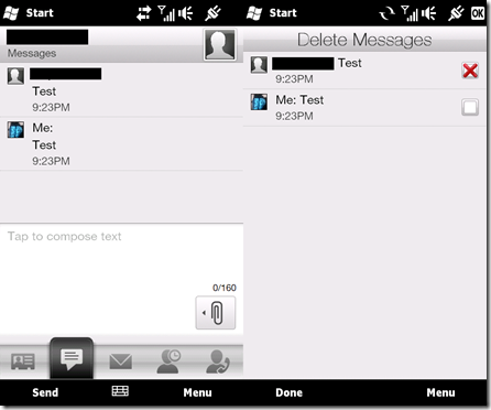 Delete SMS