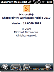 SharePoint About