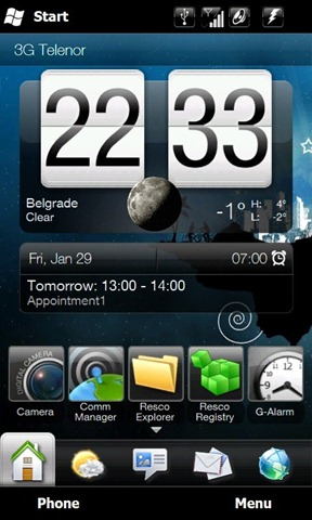 New HTC Sense 2.5 Manilla Mod brings extra screens, extended appointments 1