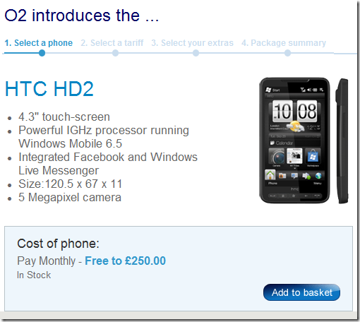 O2 HTC HD2 gets ROMmed twice