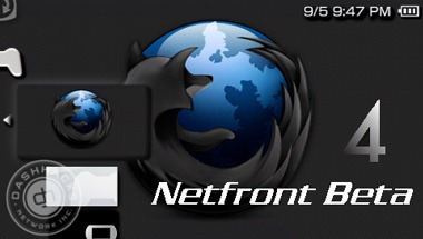 netfront internet browser psp