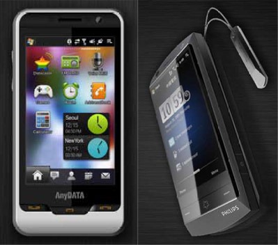 Two new Windows Mobile phones from AnyDATA 2