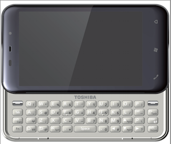 Toshiba K01 made official, spots 4.1 inch OLED capacitive screen, QWERTY slider 7