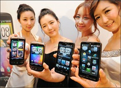 HTC HD2's Korean launch