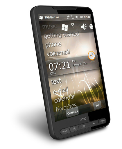 HTC HD2 with Windows Mobile 6.5.3