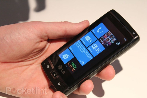 The LG Panther is one 5 Windows Phone 7 handsets LG is set to release before year's end.