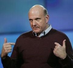 Steve Ballmer, the right man for the job.
