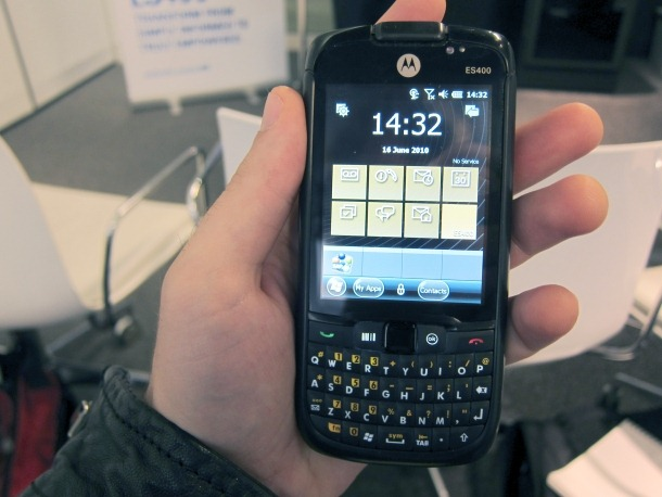 Motorola ES400 will get a Windows Embedded Handheld update