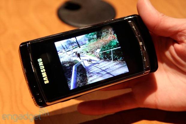 Samsung Omnia HD running Windows phone 7