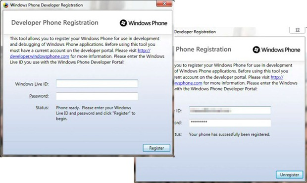How to developer unlock Windows Phone 7