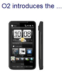 O2 HTC HD2, now with extra 900 Mhz