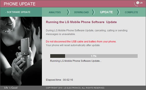 LG Expo gets a ROM update 1