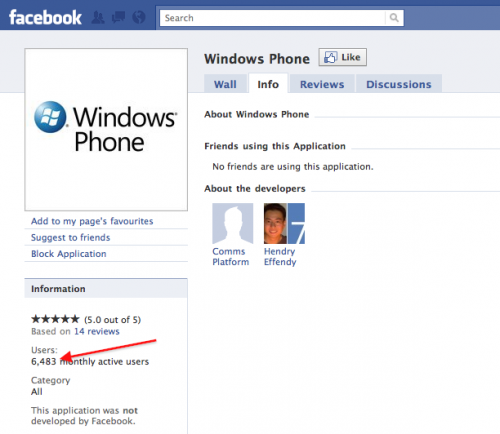 More than 6000 windows phone 7 devices out there?