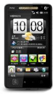The HTC TIANXI runs Windows Mobile 6.5.3