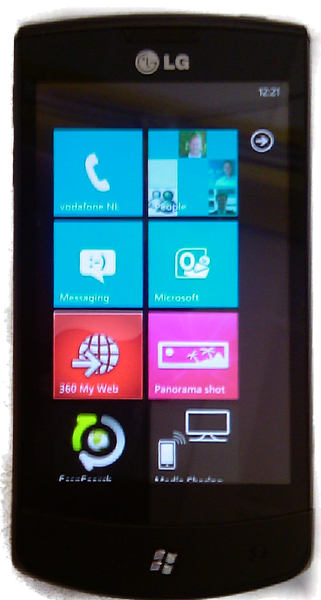 Microsoft leaks first clear picture of LG E900 Optimus 7, may come to Vodafone 4