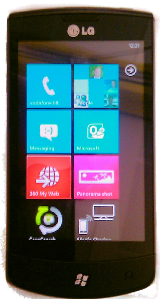 The LG E900 Optimus 7 may come to vodafone.