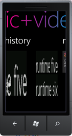 Windows Phone 7 music hub integration