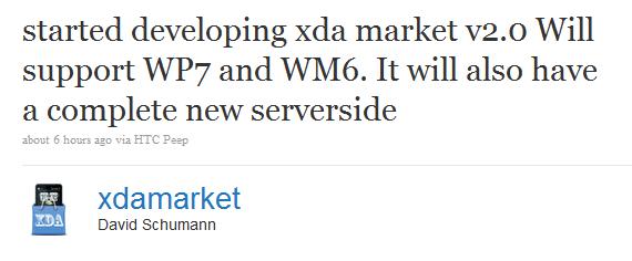 XDA market taking on Microsoft