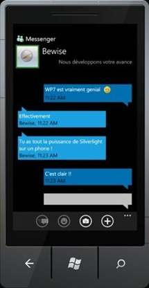Messenger for WP7?