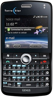 TerreStar GENUS Windows Mobile sattelite smartphone