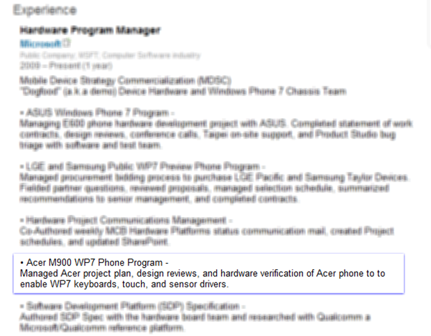 Is an Acer Windows phone 7 coming?