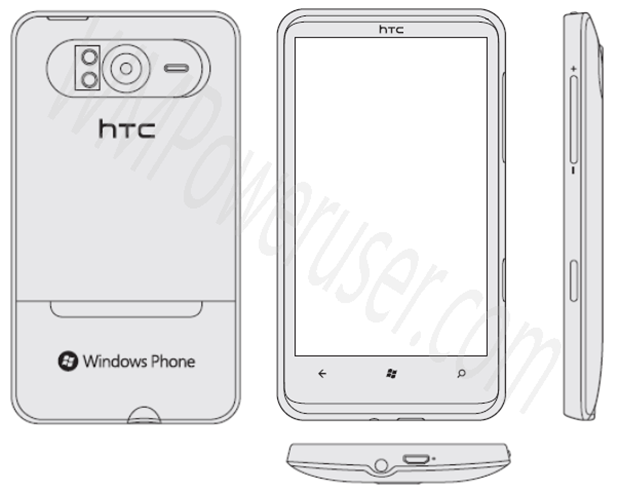 The HTC HD7 revealed