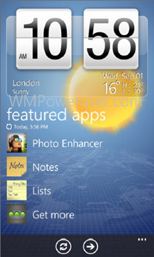 HTC HUB in Windows Phone 7