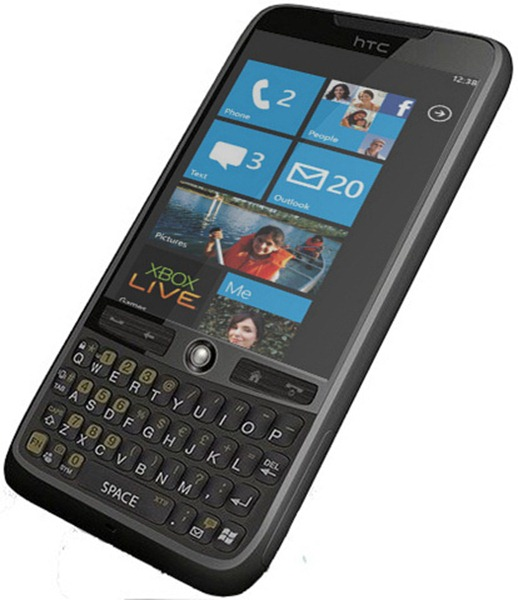 Windows Phone 7 - Chassis 2 Render