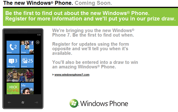 Pre-register for WP& on 3 and win a handset.