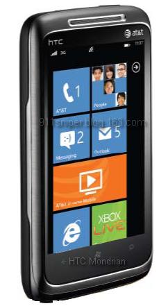 AT&T HTC Mondrian