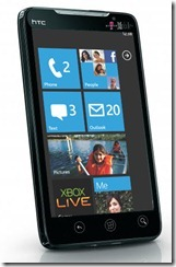 what a Windows Phone 7 HTC Evo may look like