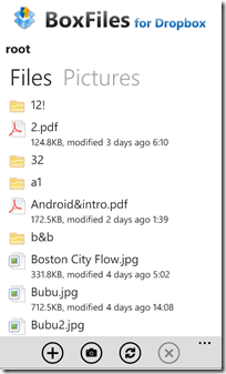 BoxFiles for Dropbox