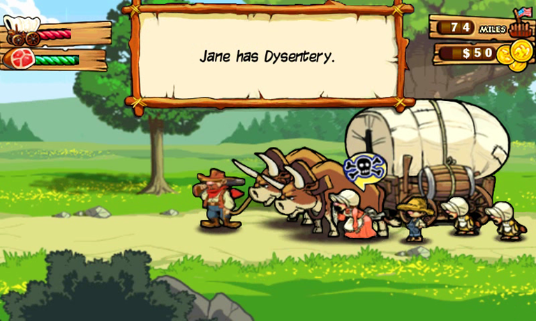 Game Review: The Oregon Trail HD 27
