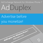 AdDuplex–nifty idea for developers to help each other promote their apps 1