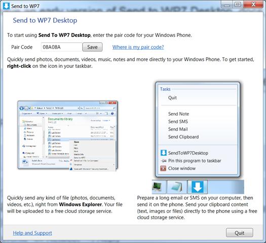 sendtowp7desktop