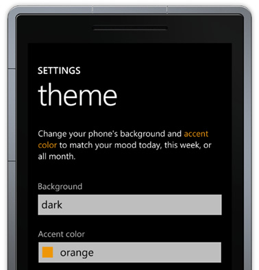 Hack: Full Theming Options Available for Windows Phone 7 1
